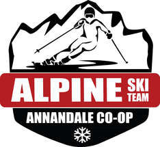 Annandale Alpine Co-Op Ski Team Logo